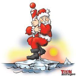 Global-warming-santa